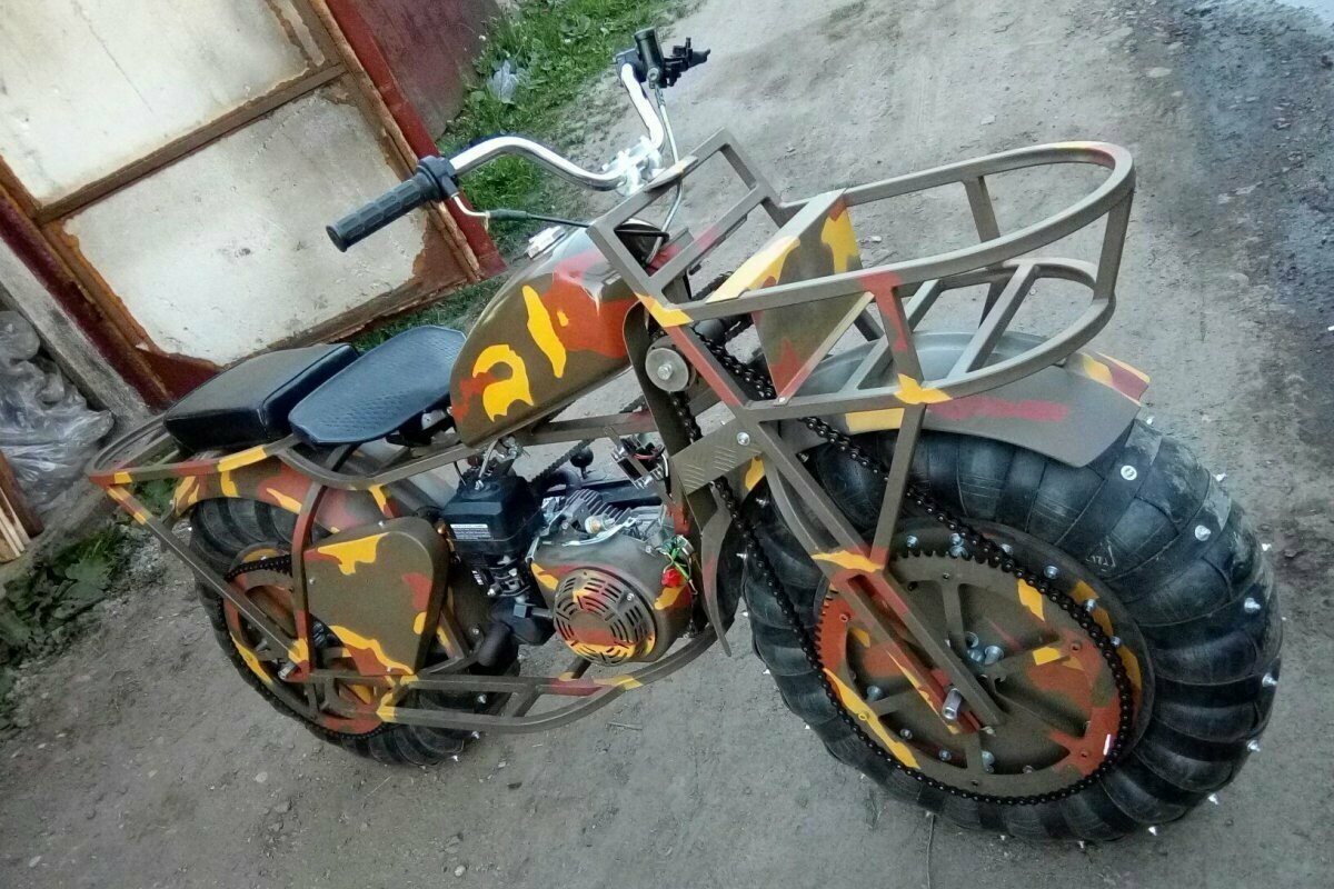 Мотоцикл-вездеход Шограш 2×2