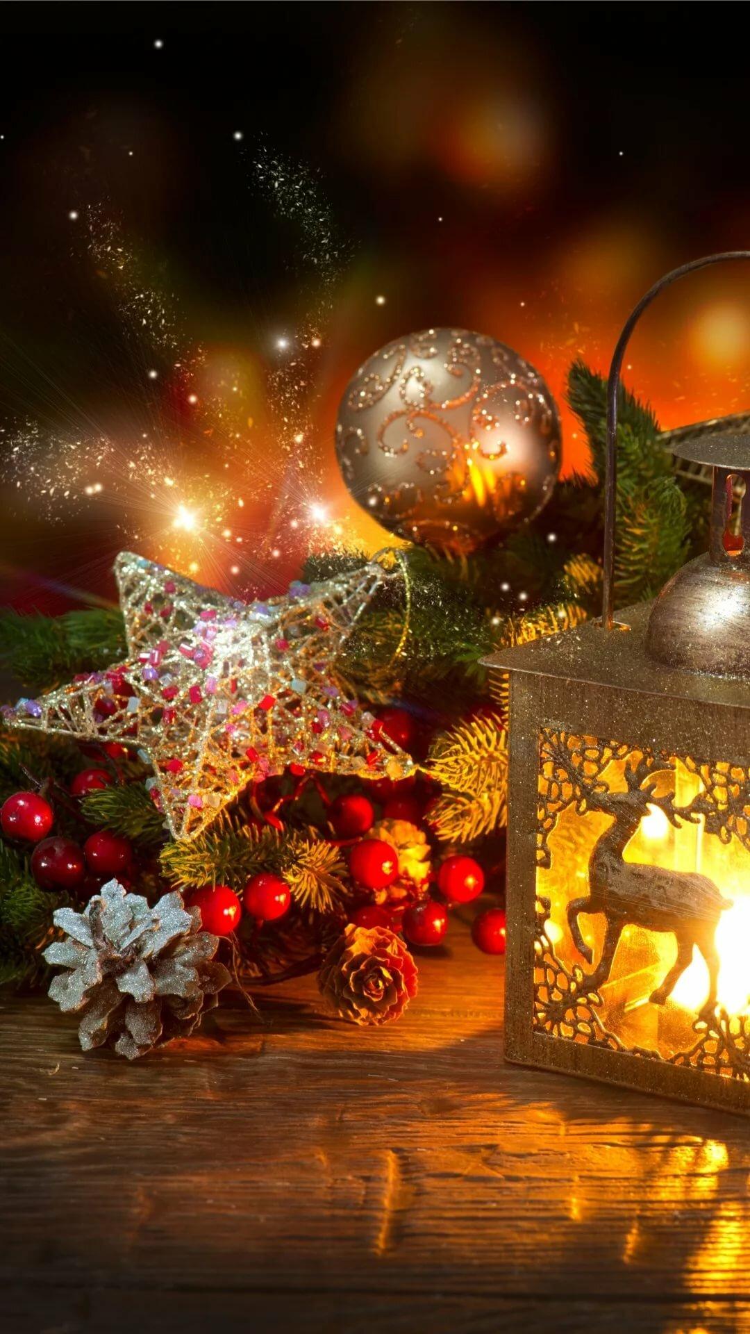 новогодний фонарик гиф вашему
