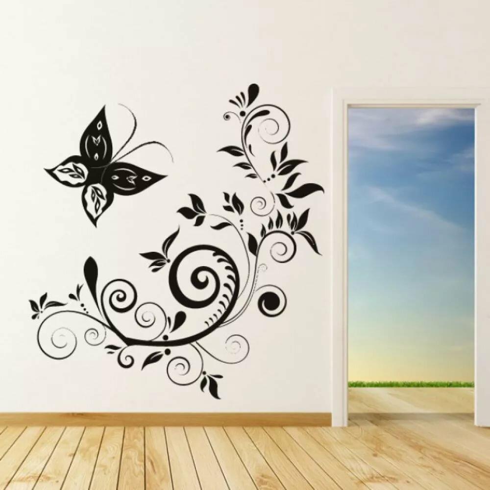 красивые рисунки на стену дома накачать широкие