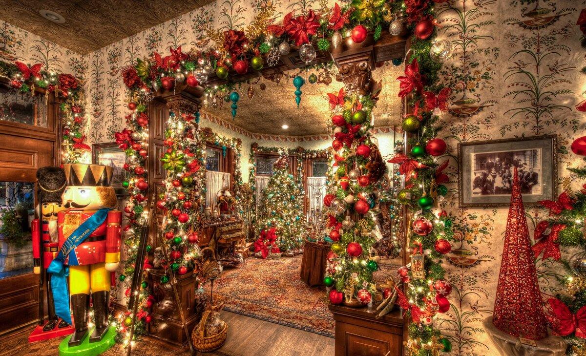 Рождественские фото красивые