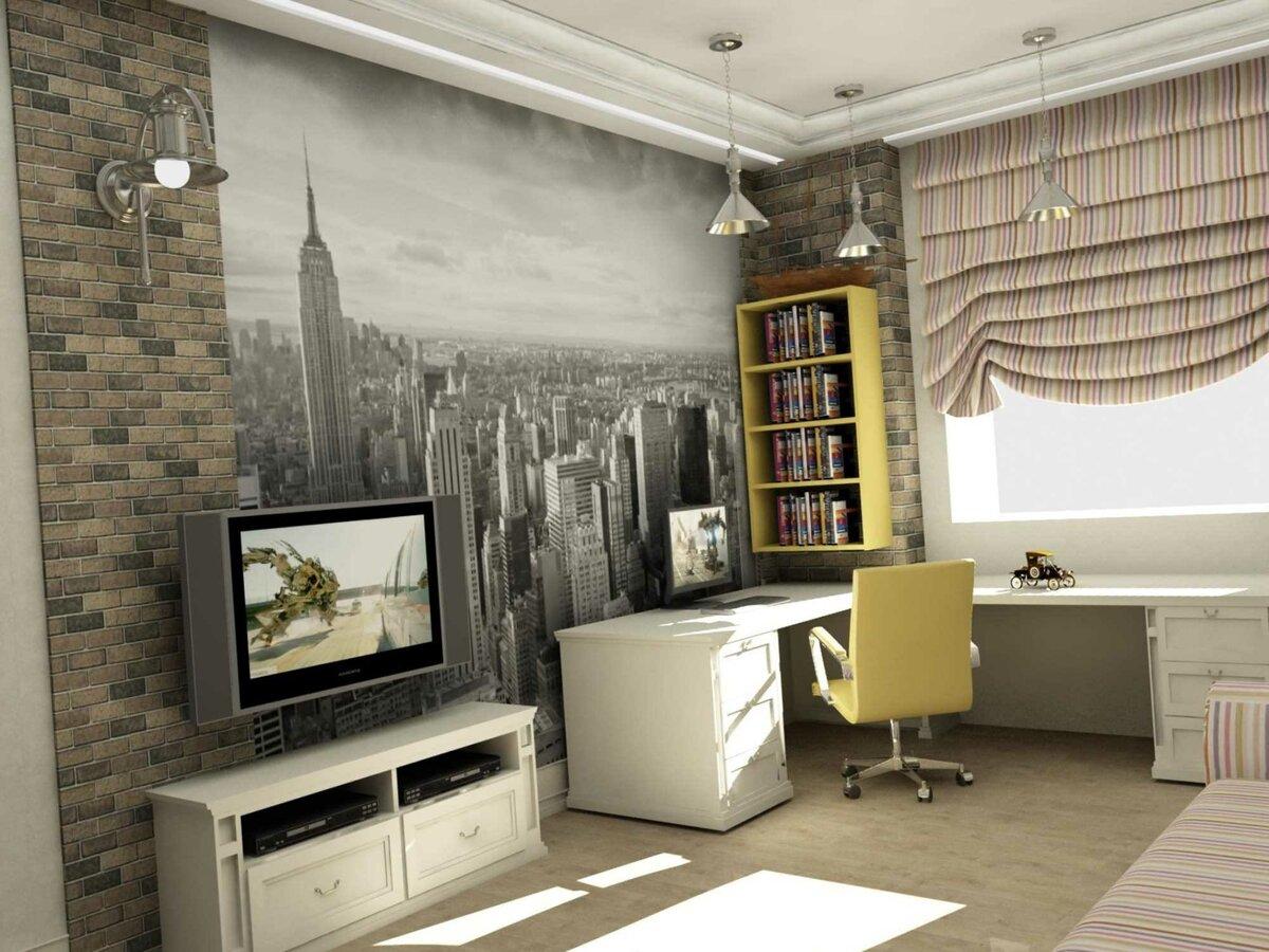 Интерьеры комнат для подростков в картинках