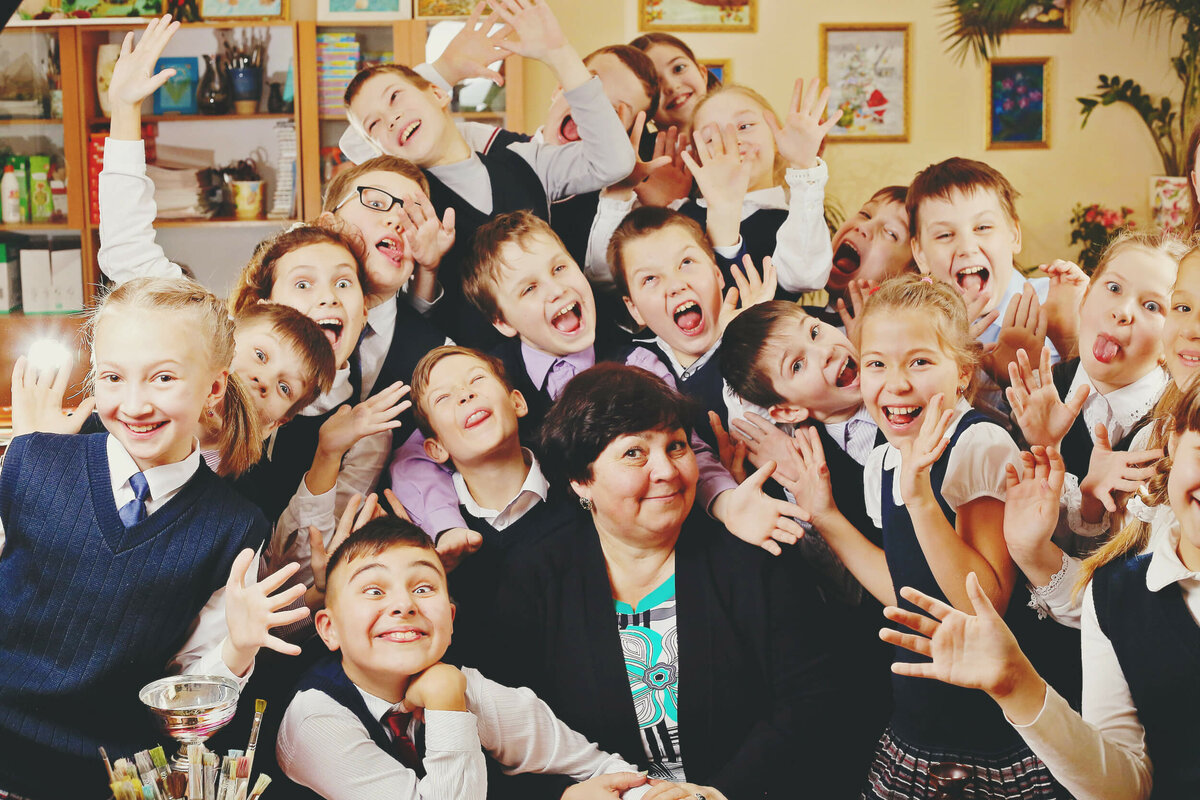 Картинка дети одноклассники