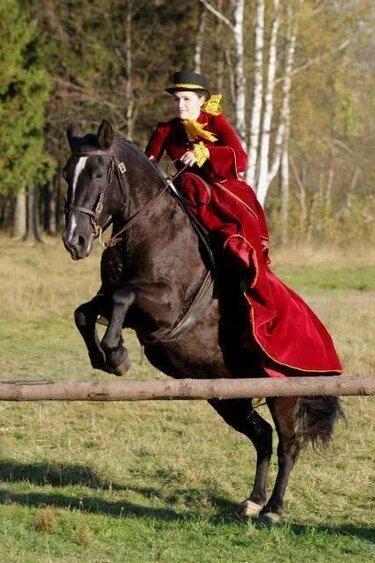амазонка для езды на лошади