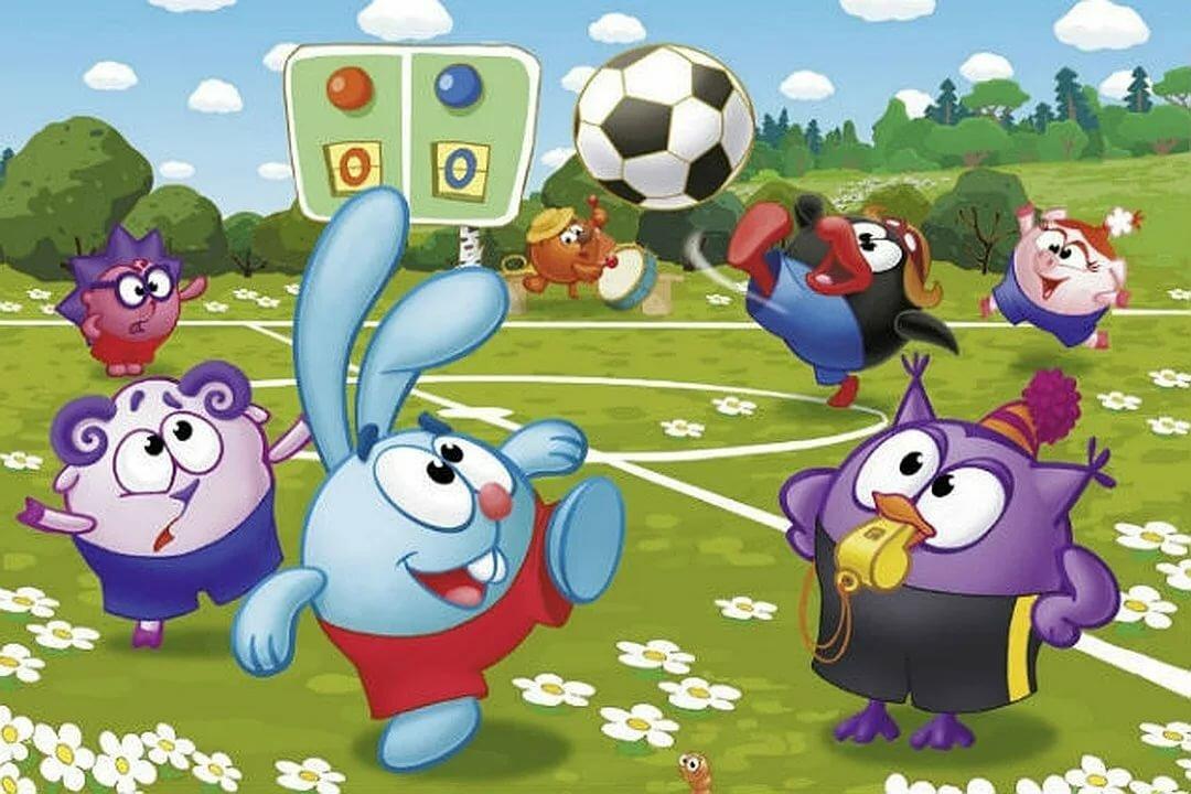 Картинки с мультиков про спорт