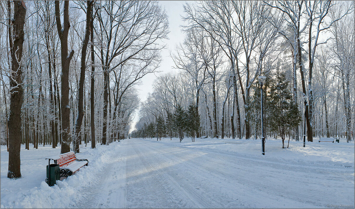 шоу было зимний городской пейзаж тулы фото был