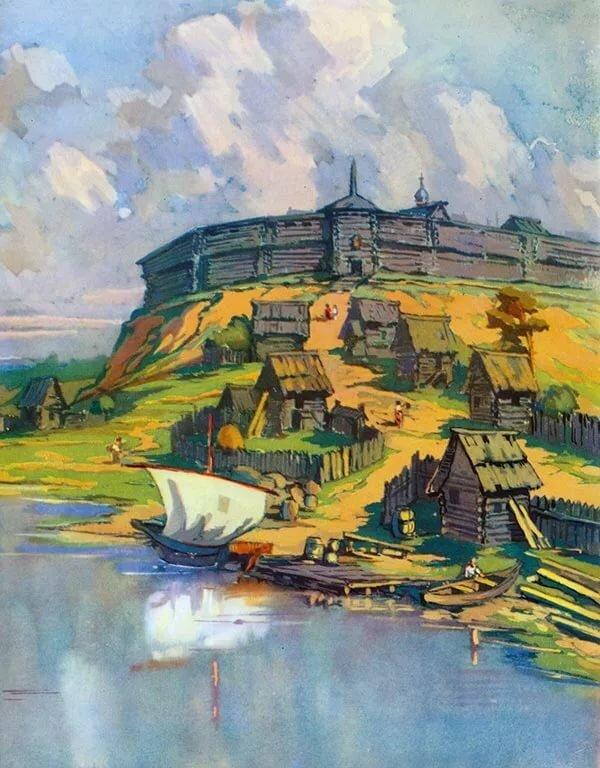 Древнерусские города в картинках