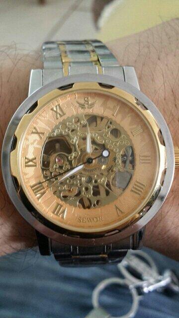 Часы Winner Prestige в повседневной жизни