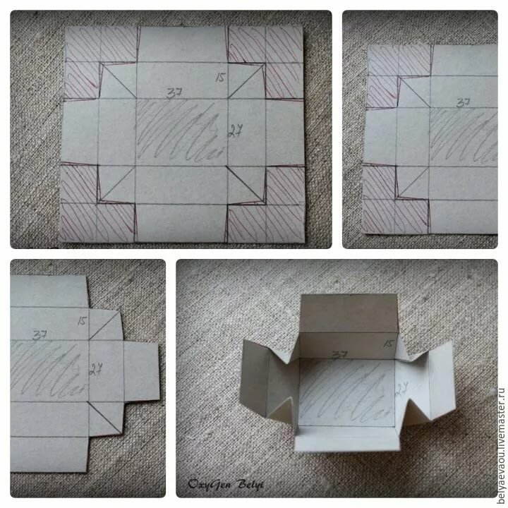 Картинки как делать коробки