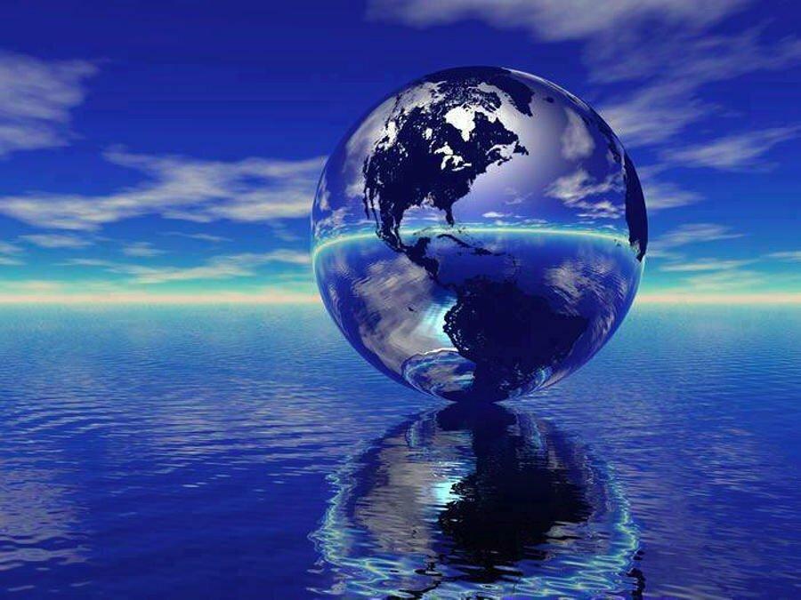 Земля вода картинка