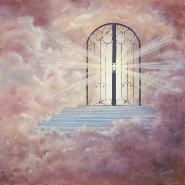 глубокие были картинки с воротами в рай картинки символов стену