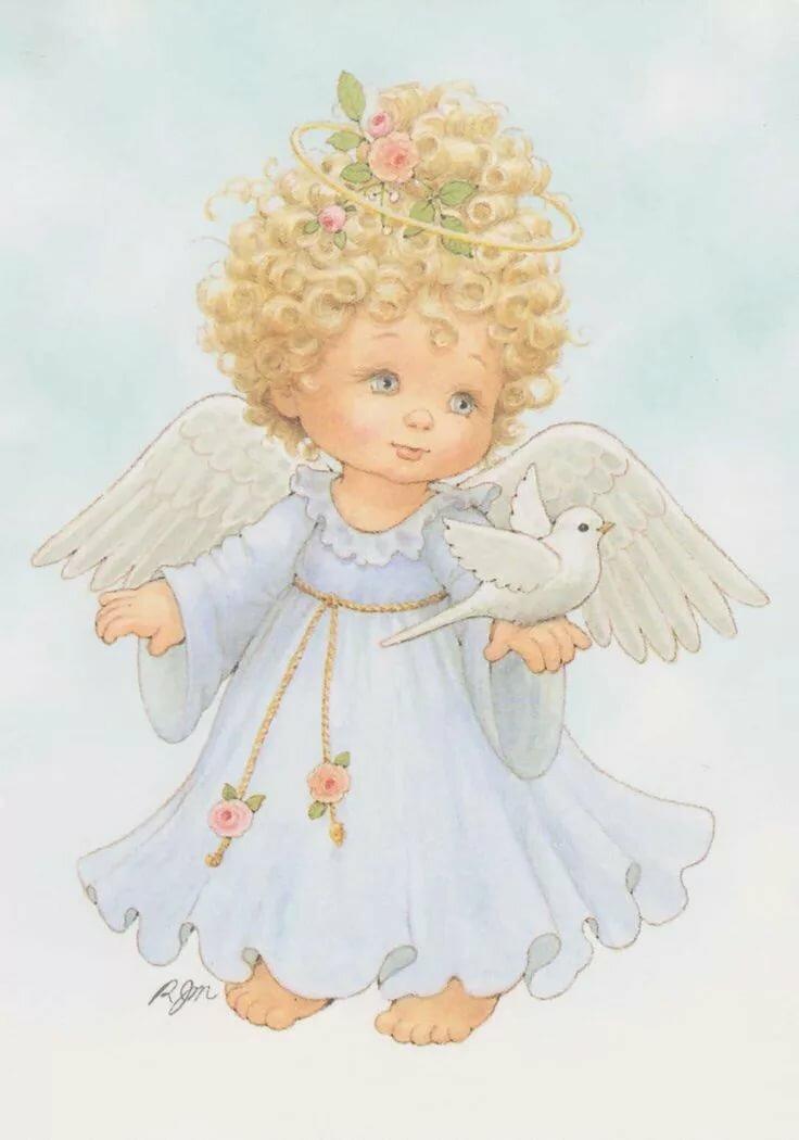 картинки добрые ангелы иллюстрации эжектором
