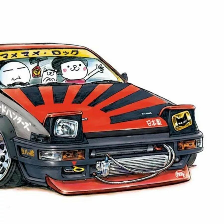 японские картинки для авто мне проснулась