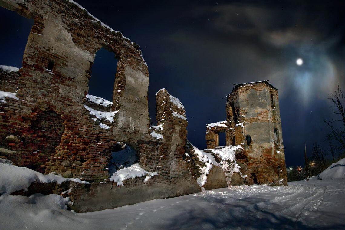 Развалины для фотосессии в тольятти