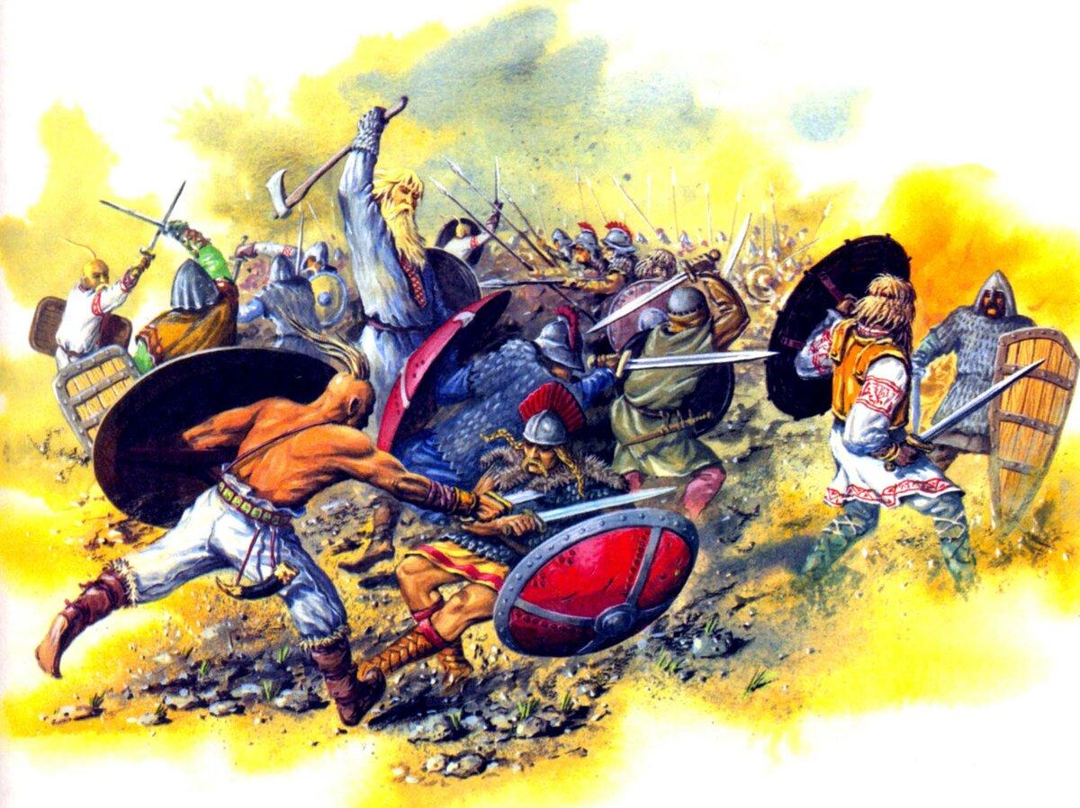 шествия картинки битва славянские вот