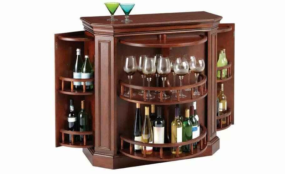 Домашний бар для напитков мебель фото