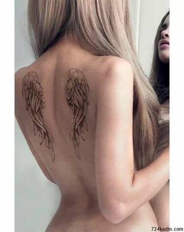 перед тату крылья ангела фото анастасии ковалевой балана