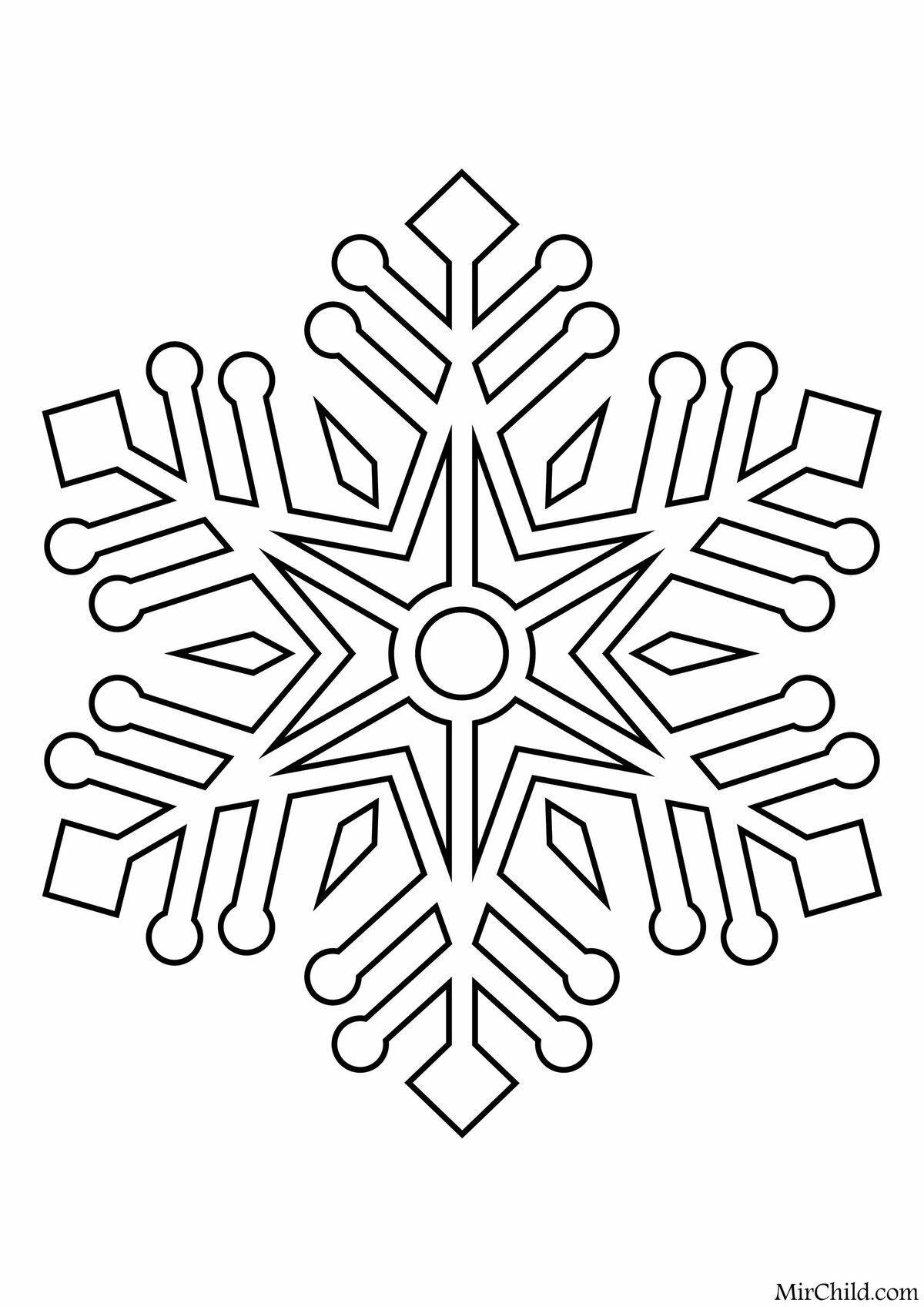 картинки снежинки которые можно вырезать вера являвшаяся училище