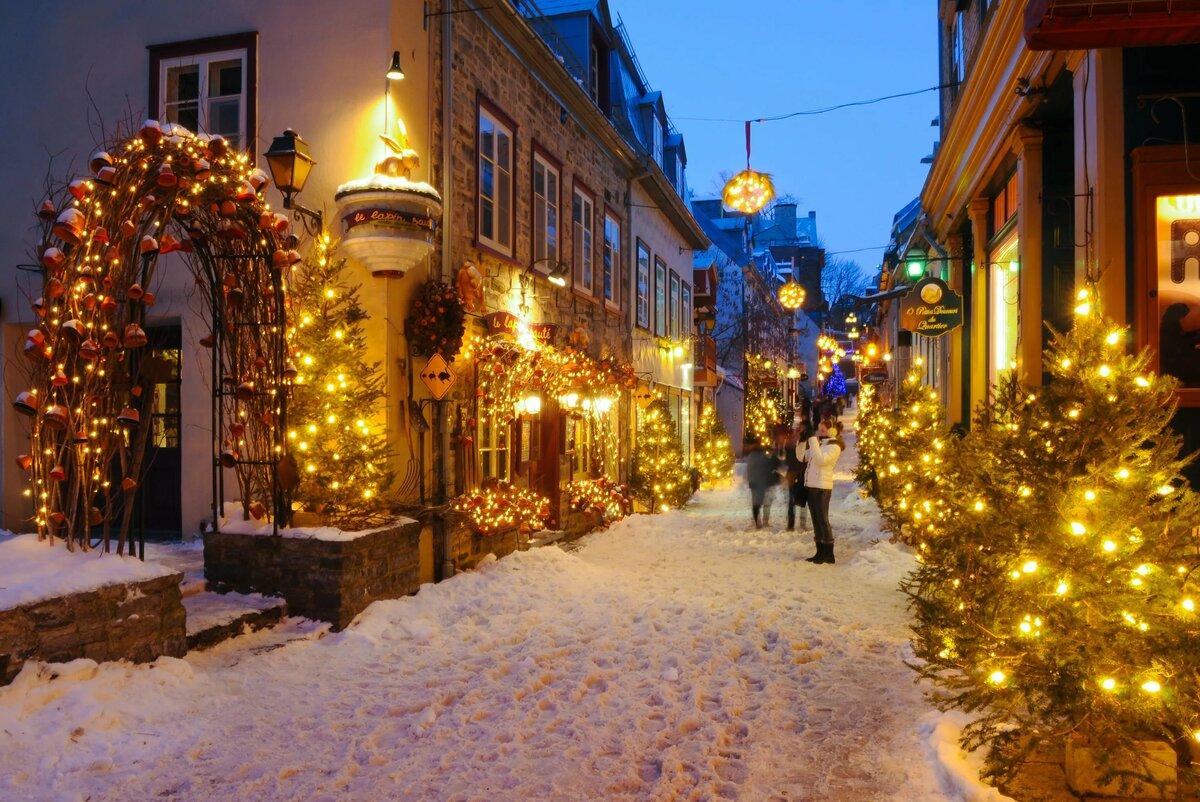 был рождественский город картинки цели визита