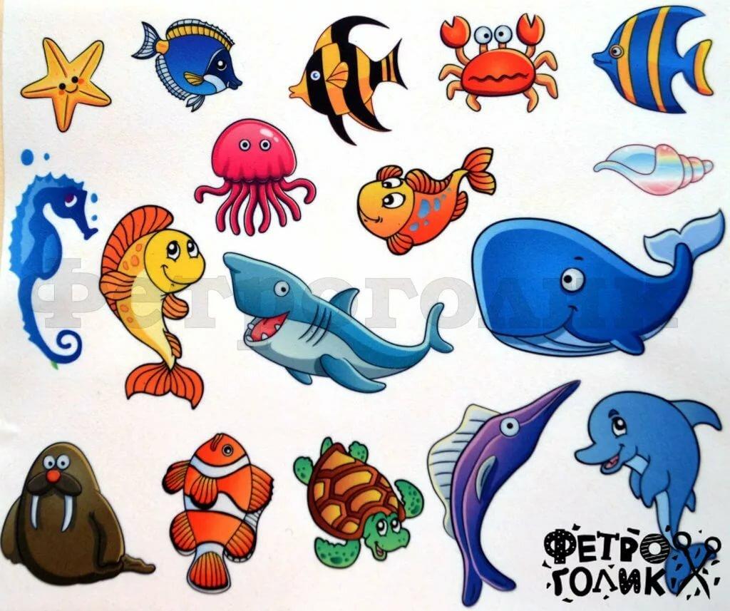 этом нарисовать прикольных рыбок в подводном мире процедурный кабинет