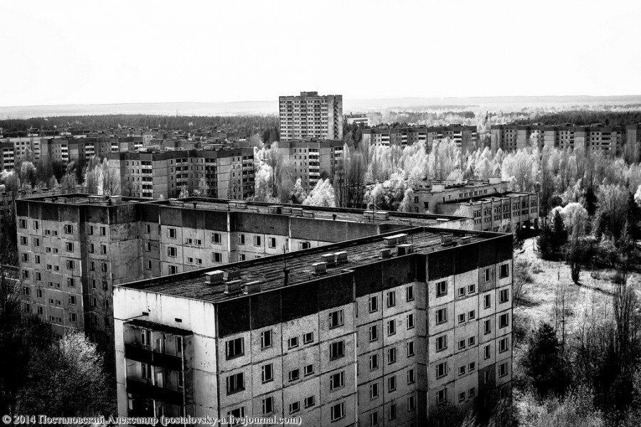 Черно белые картинки чернобыль
