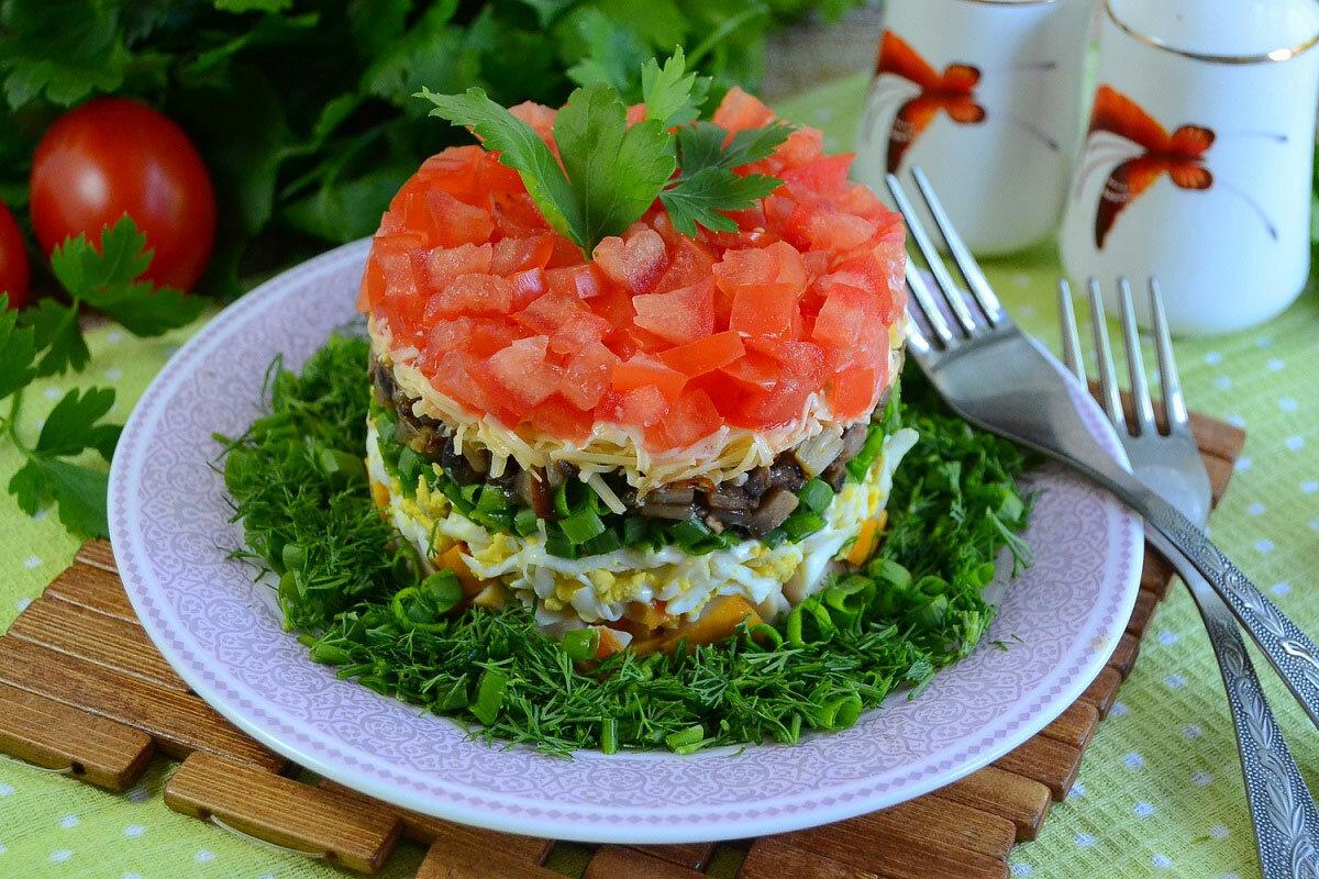 салат ольга рецепт с фото пошагово