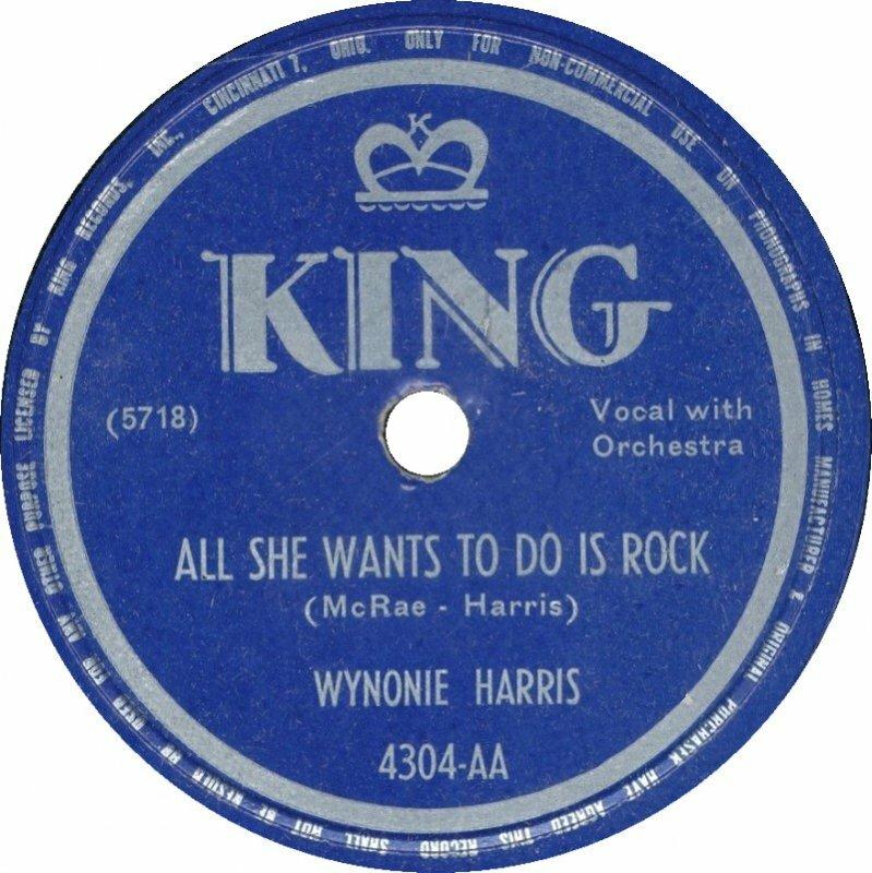 Слушать All She Wants to Do Is Rock Wynonie Harris из коллекции Химич LukBigBox