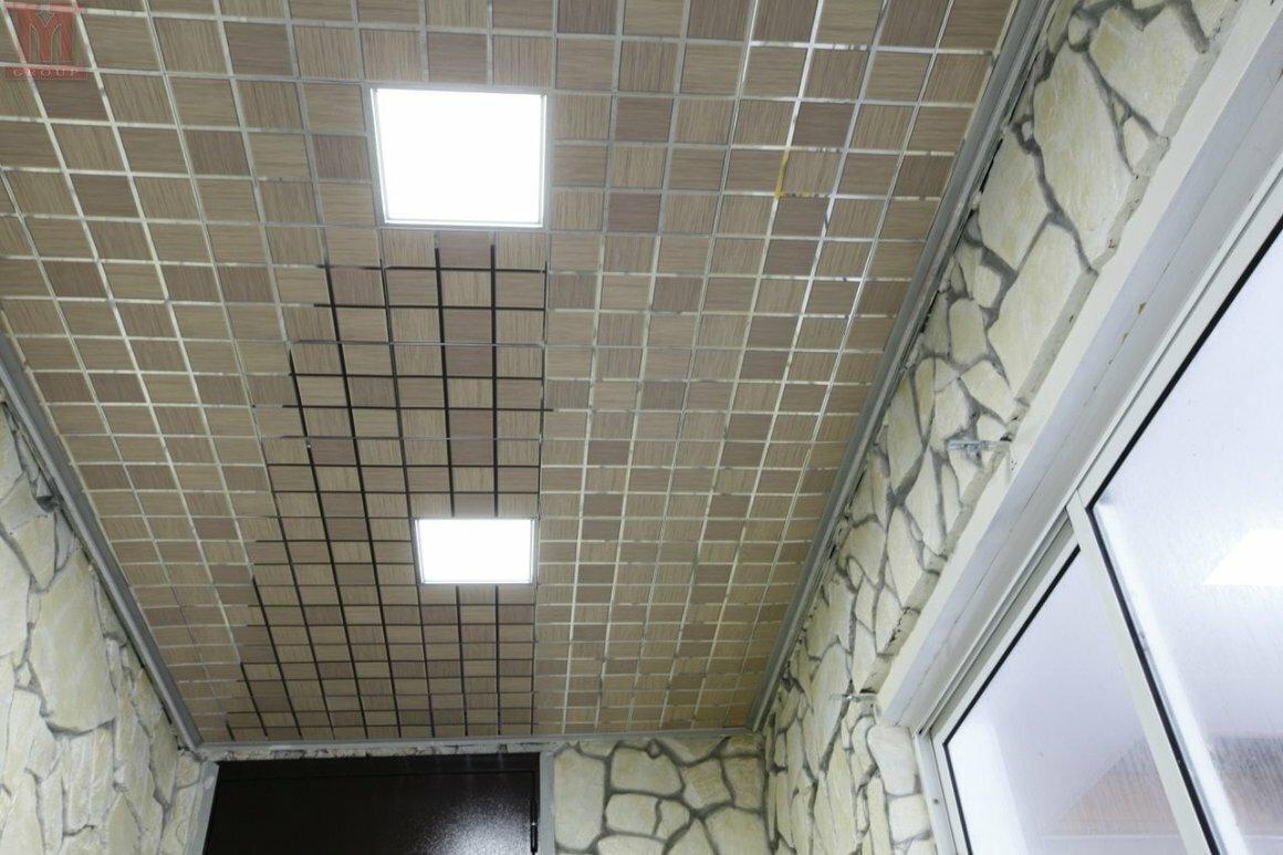 Кассетный потолок №41