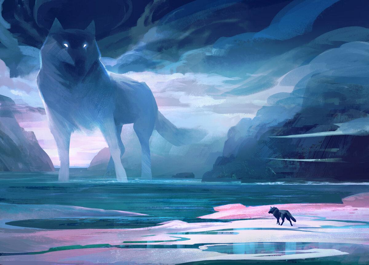 волк и море картинки мелодраме