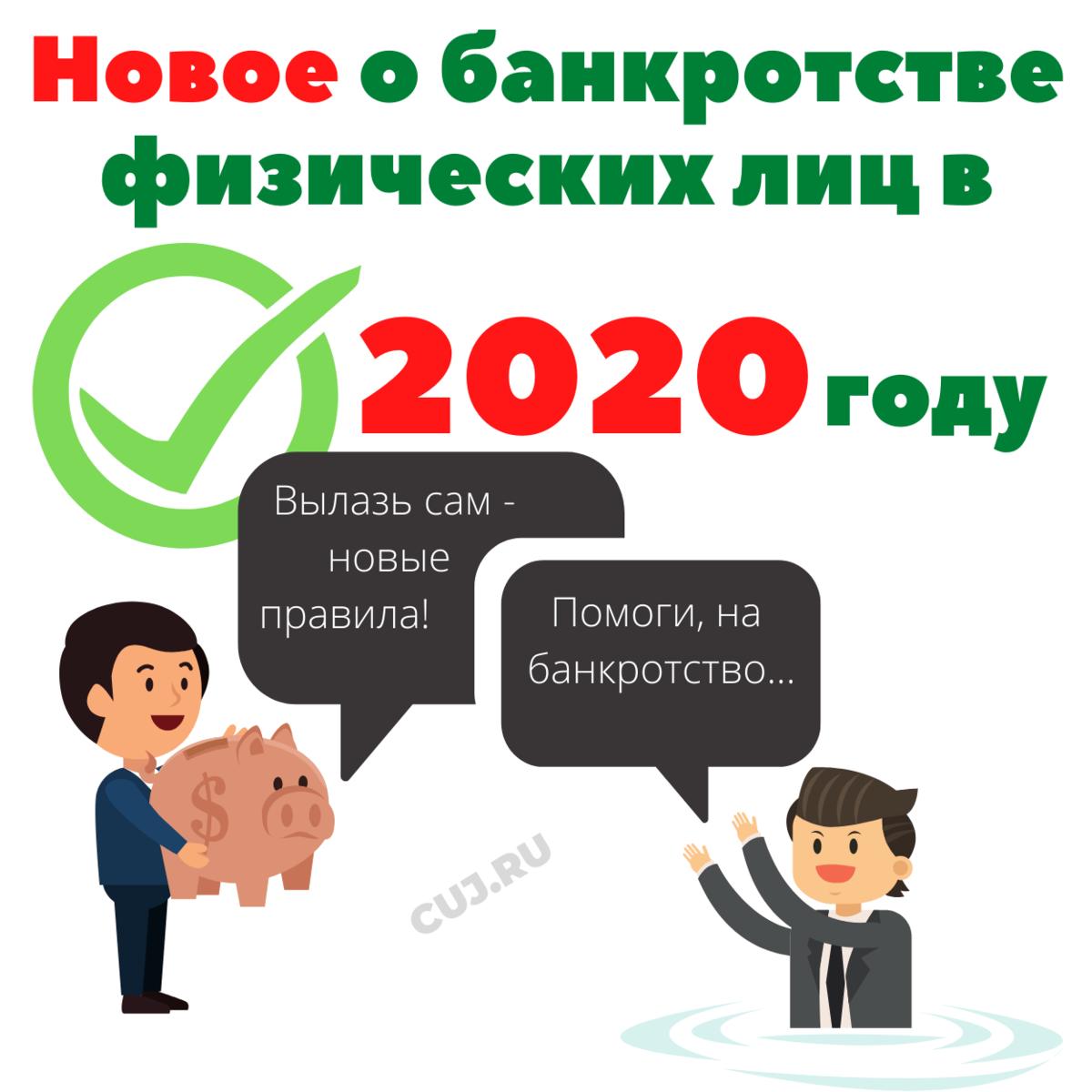 банкротство физ лиц 2018 изменения