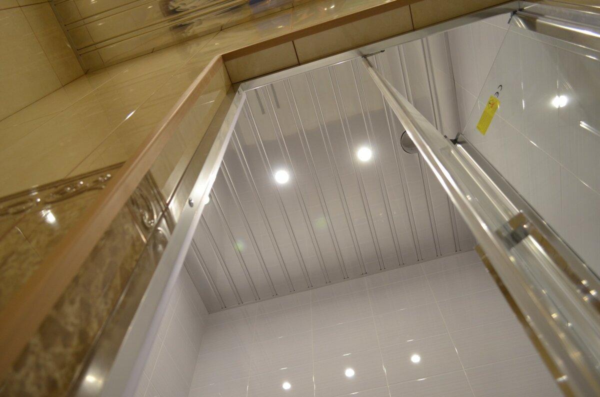 Реечный потолок №57