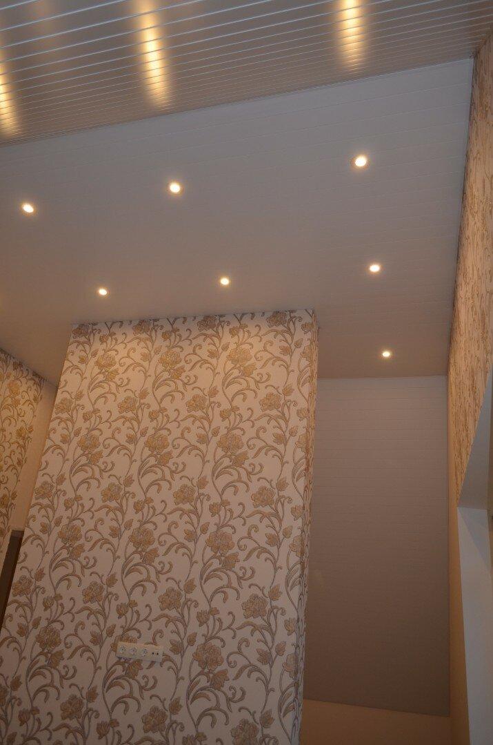 Реечный потолок №21