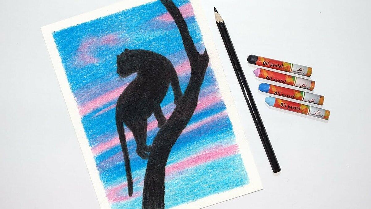 простые картинки которые можно нарисовать пастелью графику