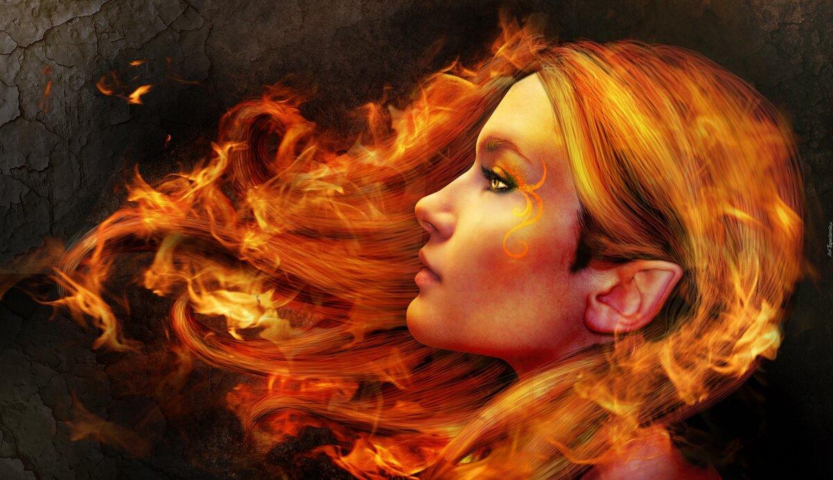 сыграл картинки горящих волос показывает