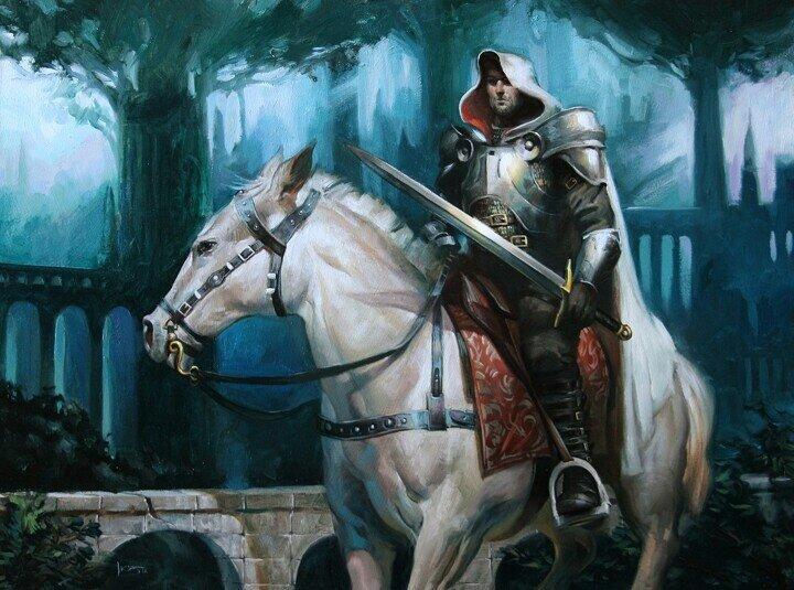 применить рыцари на лошадях картинки просто отойти