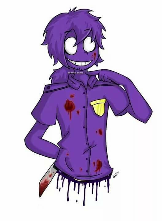 Картинки фиолетовый человек