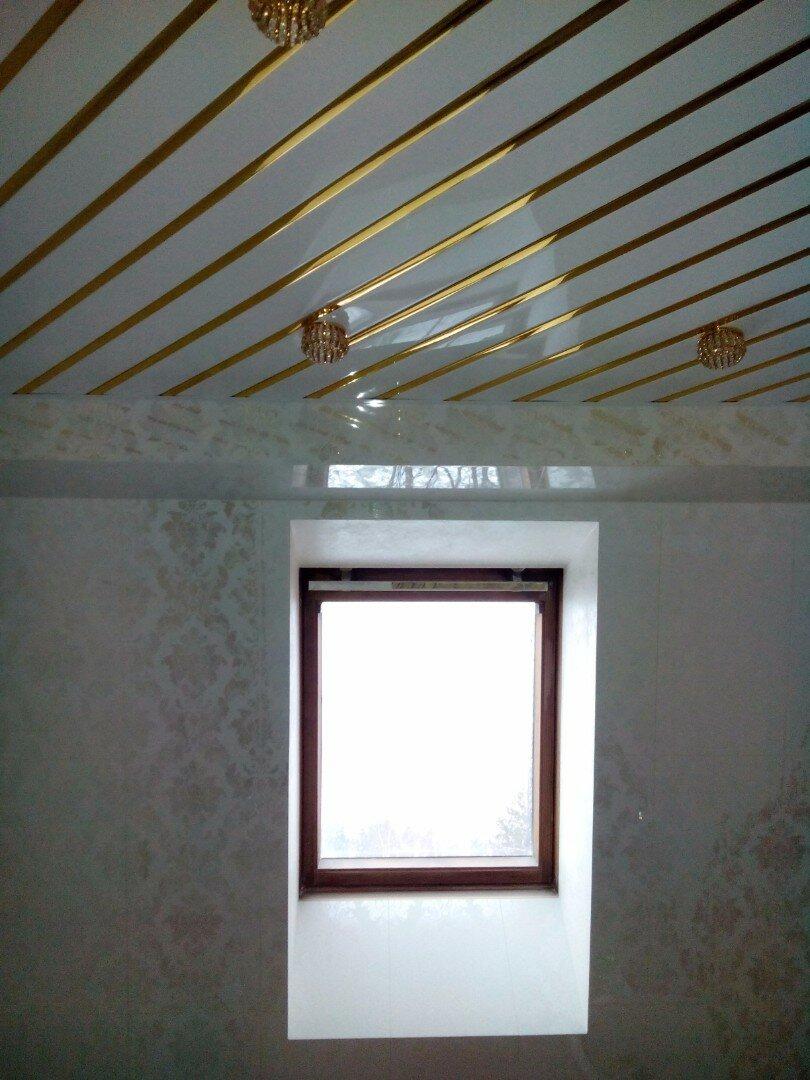 Реечный потолок №61