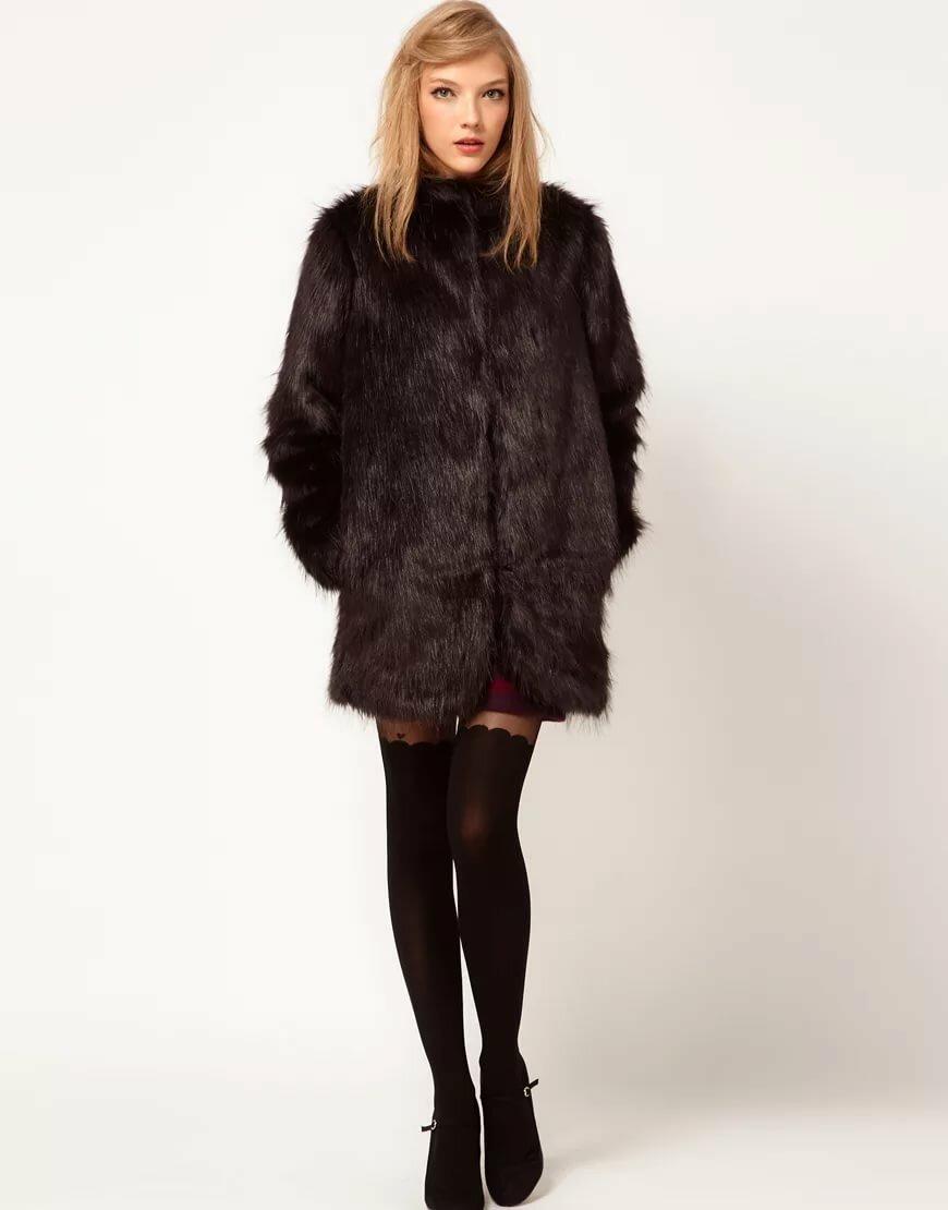 Womens petite fur coats