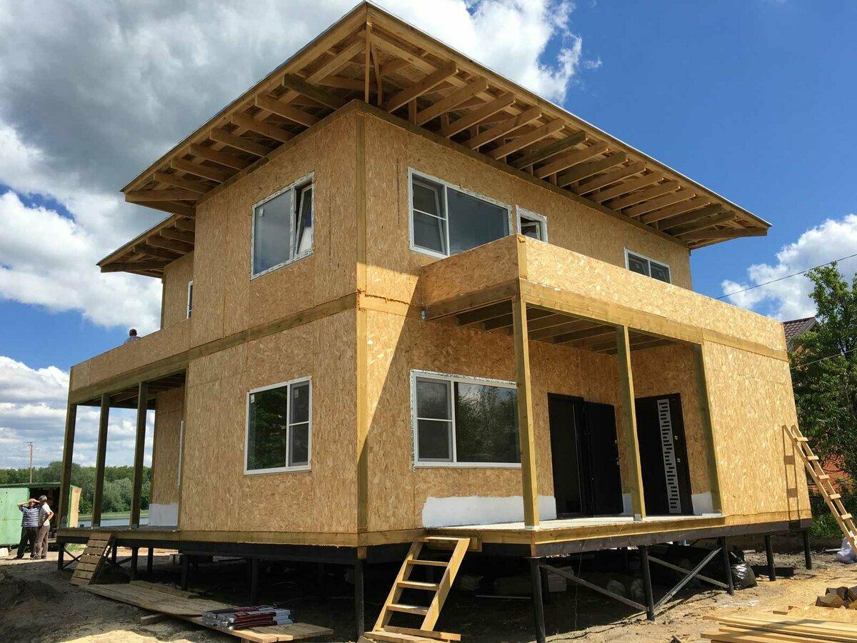 проекты домов из сип панели в картинках довольно большое