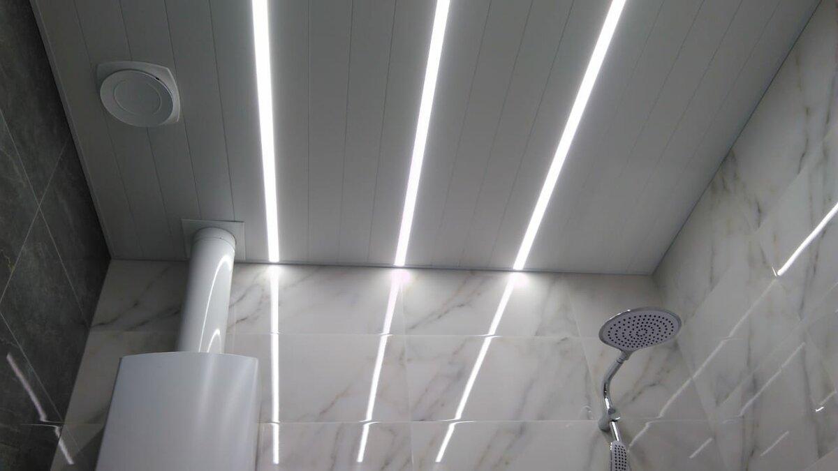 Реечный потолок №55