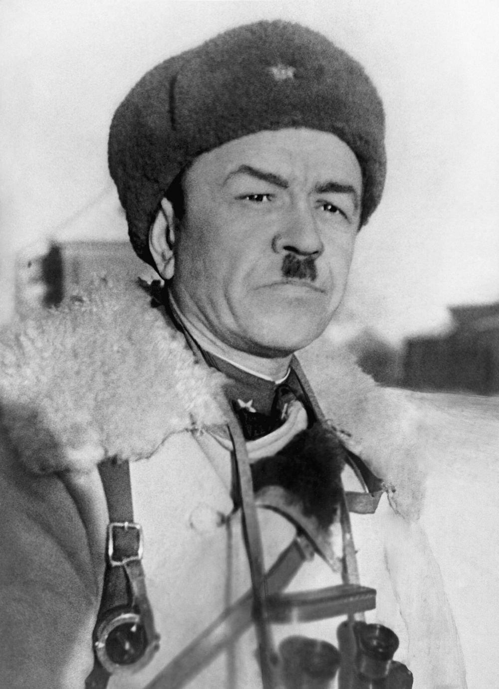 Герой Советского Союза генерал-майор И.В.Панфилов