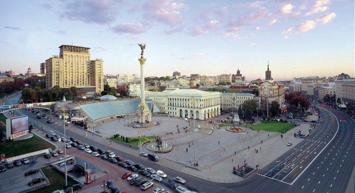 Киев улицы картинки
