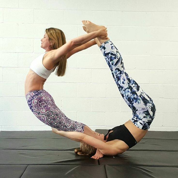 Парная Йога Для Похудения. Простая йога для похудения: 5 главных поз