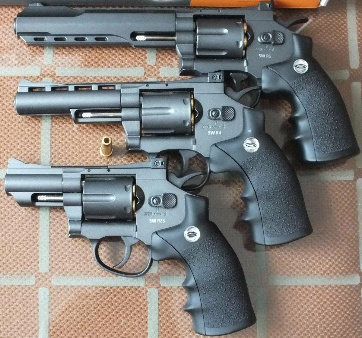 Фото последних револьверов