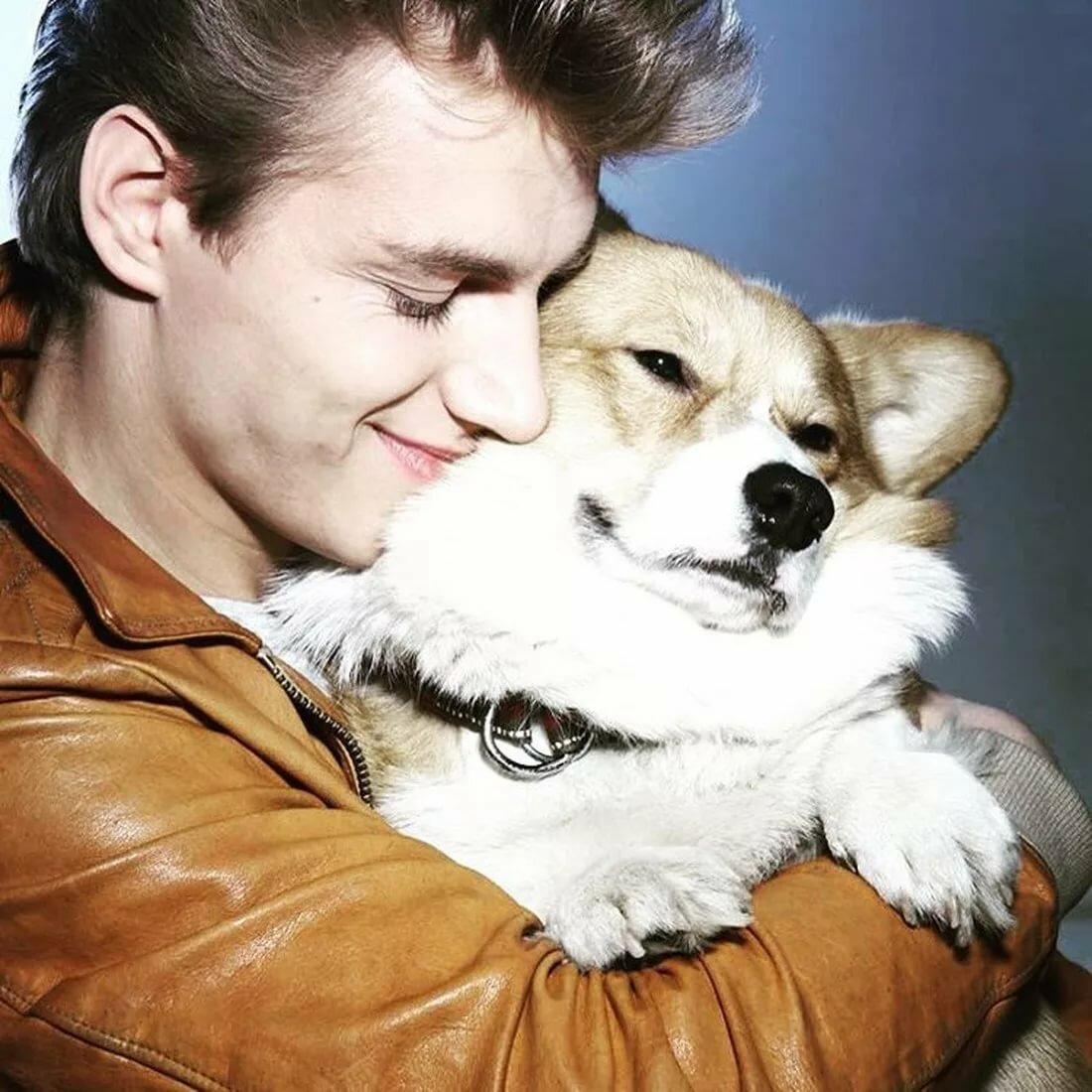 картинки алексея воробьева с собакой сосновых берёзовых