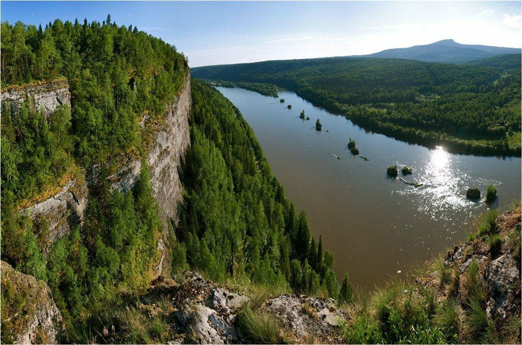 фото реки чусовая в деревне то