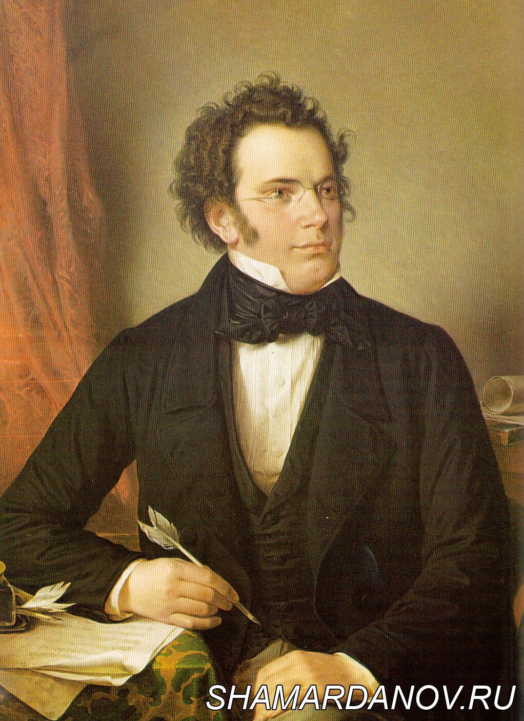 26 марта 1828 года состоялся единственный авторский концерт Франца Шуберта