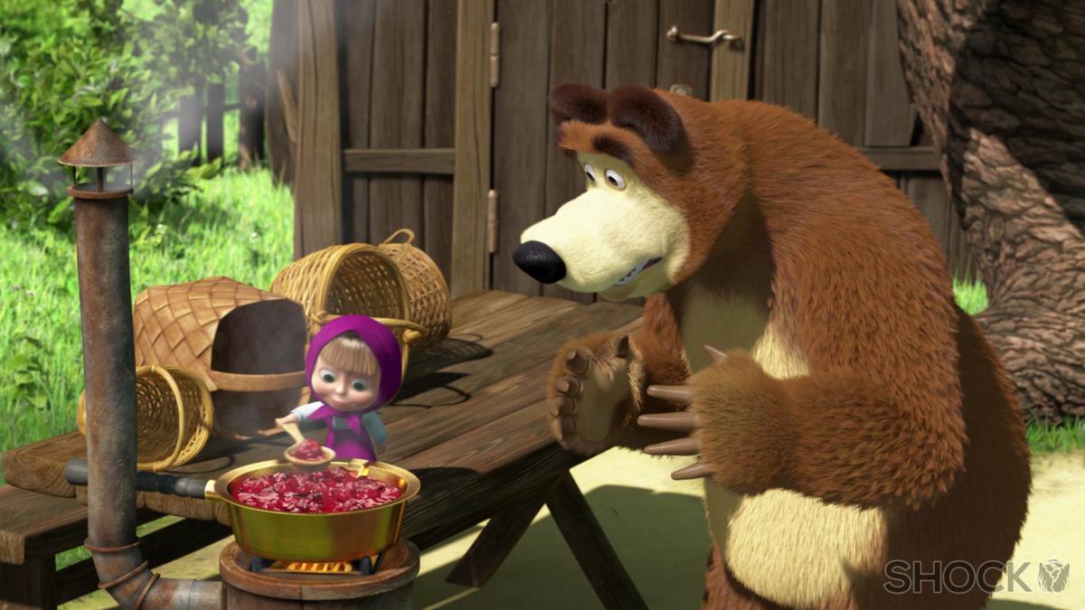 Маша и медведь фото из мультика