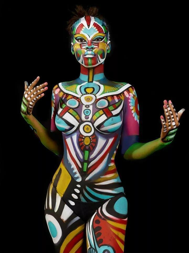 Filipino body painting