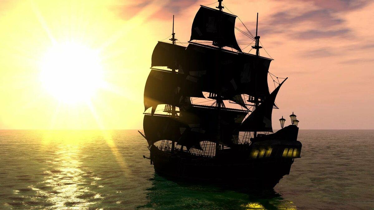 обои на рабочий стол корабли пиратов
