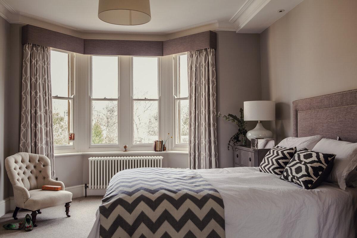 отель подходит кровать в эркерной зоне фото после окончания
